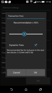 Electrum Bitcoin Wallet screenshot 5