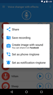 Voice changer with effects 3 7 0 Download APK for Android