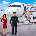 Turbojet airplane simulator