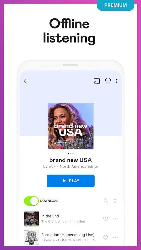 Deezer: Stream Music, Playlists, Albums & Songs screenshot 1
