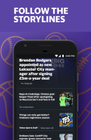 Yahoo Sport: Football & More Screen