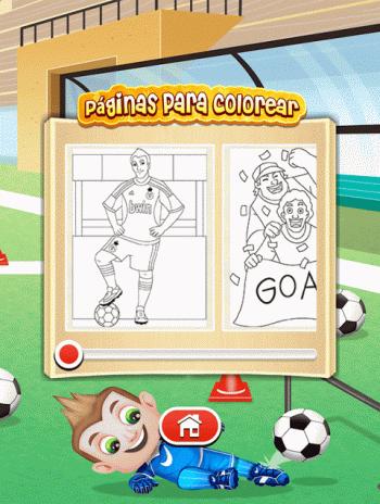 Fútbol juego libro para colorear 9.2.4 Descargar APK para Android ...