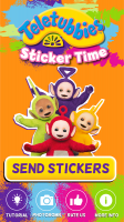 Teletubbies Sticker Time Screen