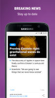upday news for Samsung Screen