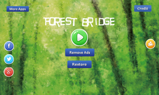 Forest Bridge screenshot 1