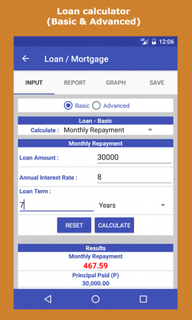 Loan & Interest Calculator 2.0 Download APK for Android - Aptoide