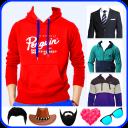 Men Sweatshirt Photo Suit Editor