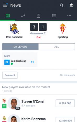 5a15cb10a29f MISTER - Fantasy Football Game2.22 Λήψη APK για Android - Aptoide