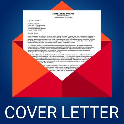 Cover Letter Maker for Resume CV Templates app