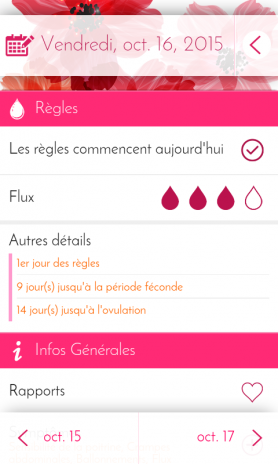 Calendrier Pour Les Regles.Calendrier Des Regles Suivi 6 1 1 Telecharger L Apk Pour