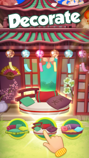 Bloomberry — match-3 design story makeover of home screenshot 14