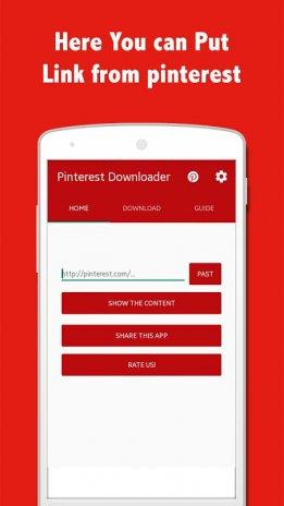 pinterest downloader android