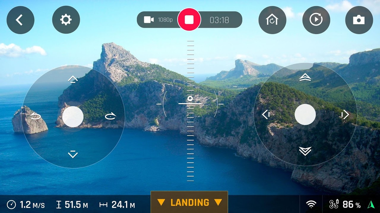 FreeFlight Pro screenshot 2