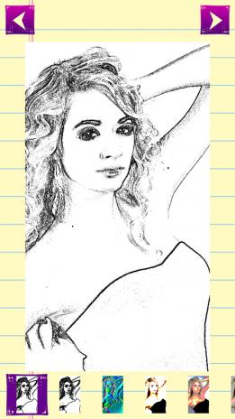 Pencil sketch photo editor screenshot 1 pencil sketch photo editor screenshot 2