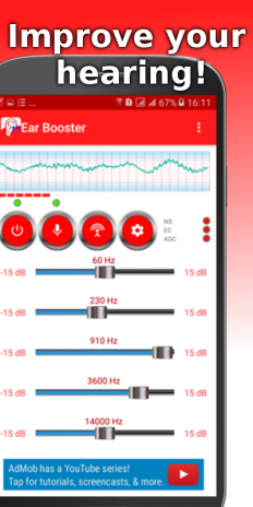 Ear Booster - Better Hearing: Mobile Hearing Aid 1 4 4 Download APK