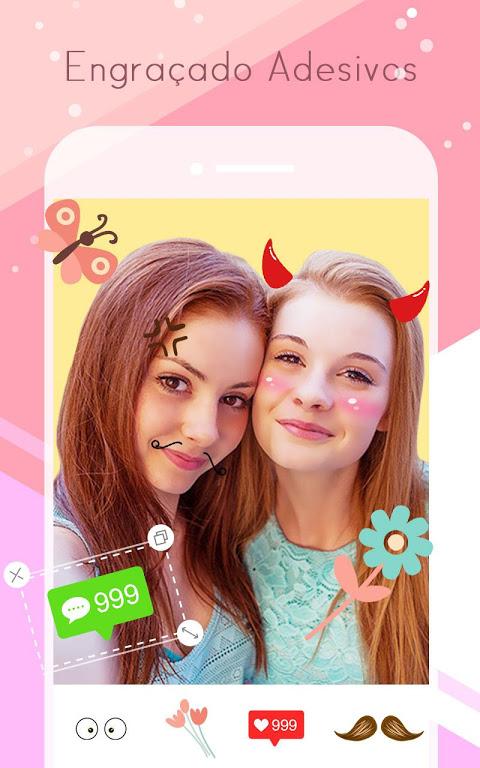 Sweet Selfie - editor de fotos, Câmara de Beleza screenshot 2