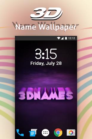 3d My Name Live Wallpaper 12 Télécharger Lapk Pour Android Aptoide