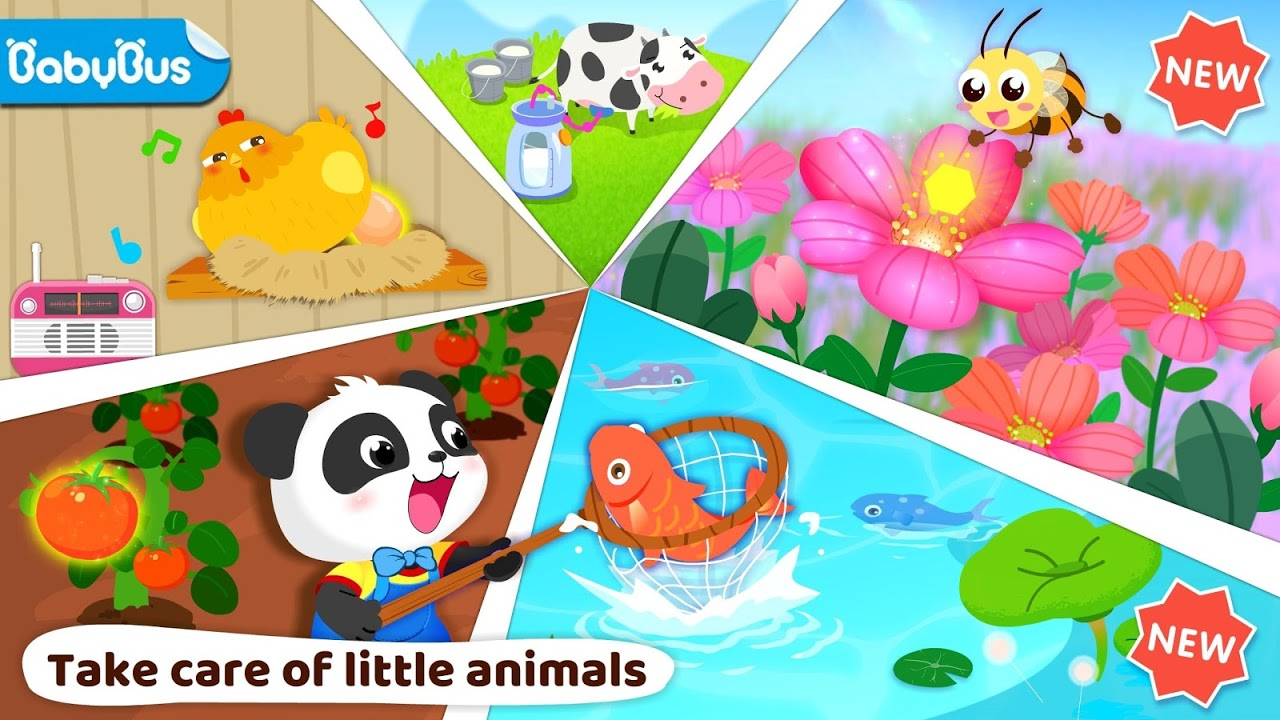 Little Panda's Farm Story screenshot 1