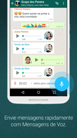 Whatsapp messenger 218292 baixar apk para android aptoide whatsapp messenger captura de tela 1 stopboris Images