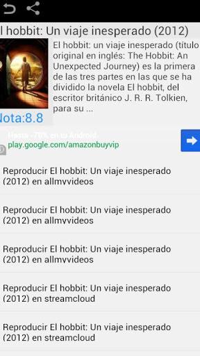 Peliculas Gratis Screenshot