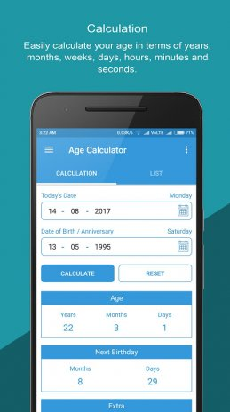 Age Calculator: Reminder, Birthday, Anniversary 3 5 4