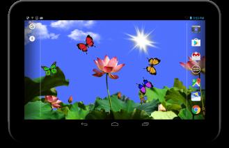 Butterfly 2 live wallpaper Screenshot