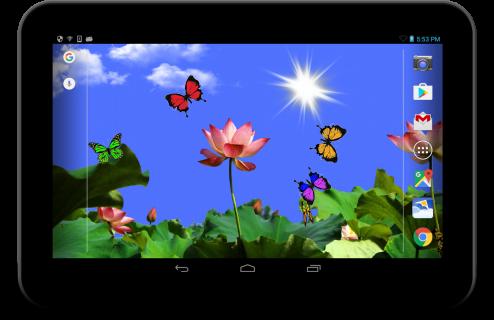 Butterfly 2 live wallpaper screenshot 2