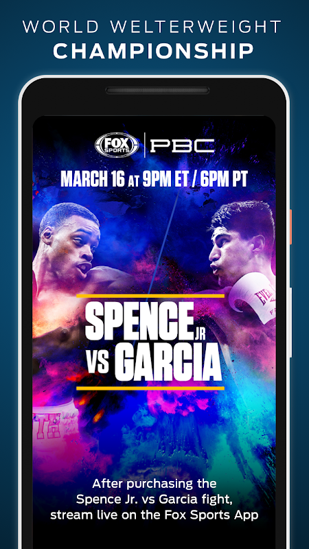 FOX Sports: Live Streaming, Scores & News screenshot 7