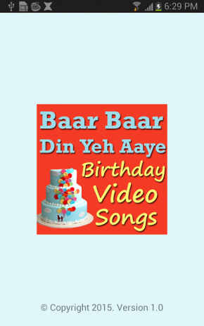 Baar Baar Yeh Din Aaye Songs 1 0 Download APK for Android
