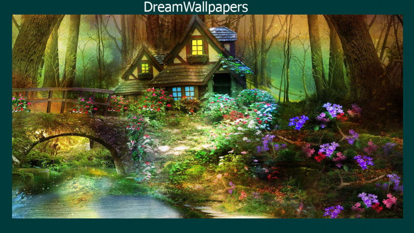 Enchanted Forest Wallpaper Screenshot 1 2