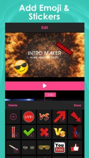 Intro Maker for YouTube - music intro video editor screenshot 3
