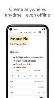 Google Docs screenshot 7