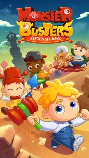Monster Busters: Hexa Blast screenshot 8