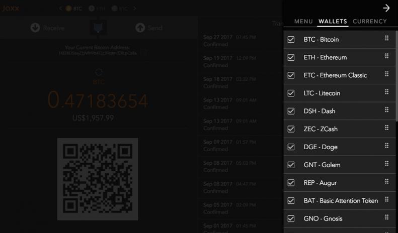Jaxx blockchain wallet 1318 baixar apk para android aptoide jaxx blockchain wallet captura de tela 8 ccuart Choice Image