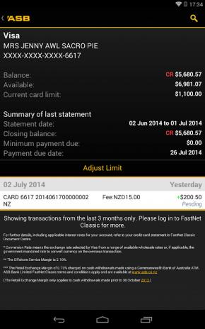Asb Mobile Banking Screenshot 20