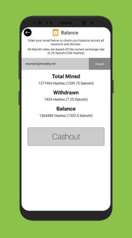 Mobile Miner - Real Bitcoin Miner (BETA) 1 3 6 Descărcare APK pentru