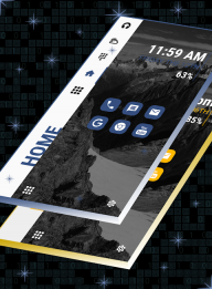 Strip Launcher 2019 - stylish theme screenshot 6