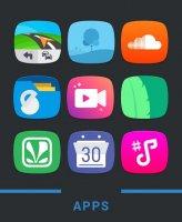 Mondo Icon Pack Screen