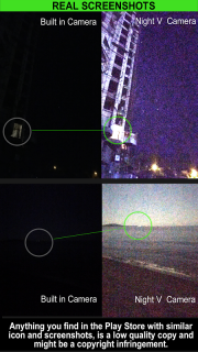 Night Camera (Photo & Video) screenshot 1