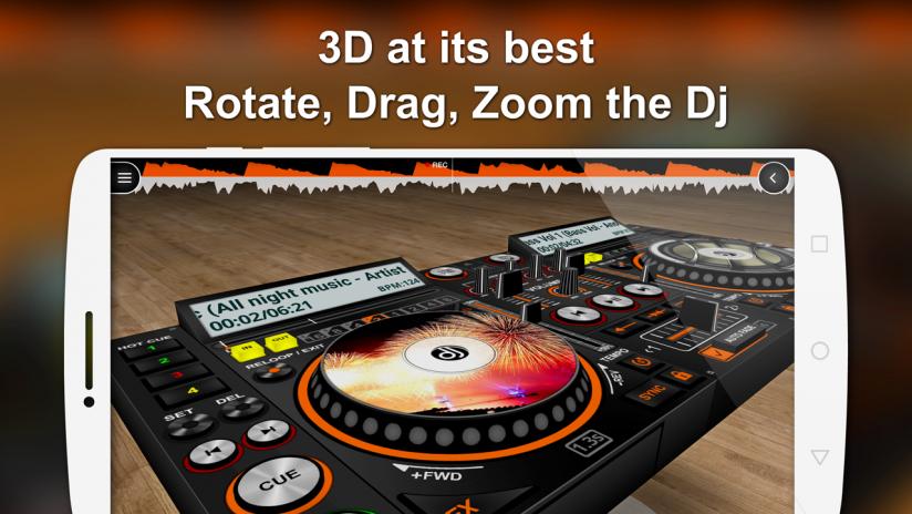 Discdj 3d Music Player Dj Mixer V4005s Laden Sie Apk Für Android