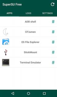 SuperSU screenshot 16