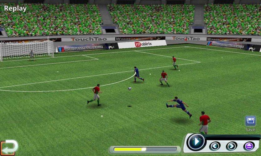 Mundial Football League screenshot 1