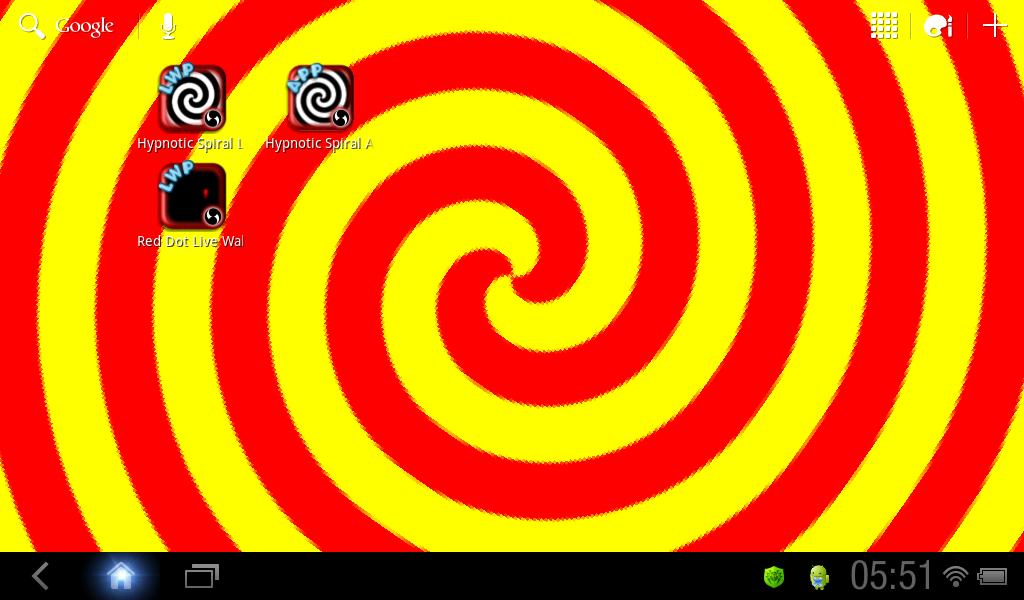 hypnotic live wallpaper apk
