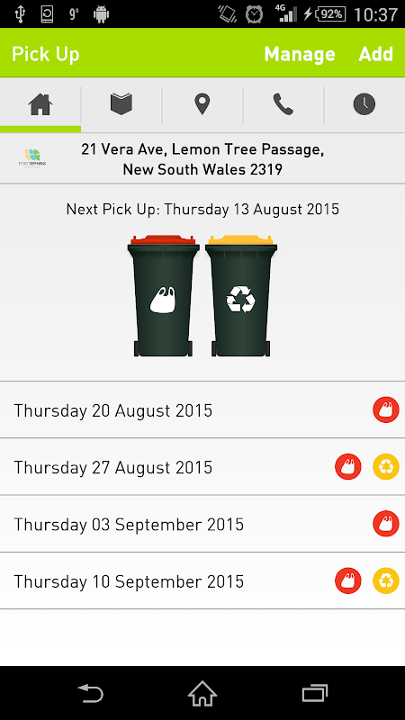 get sorted™ | Waste App For Australian Residents screenshot 1