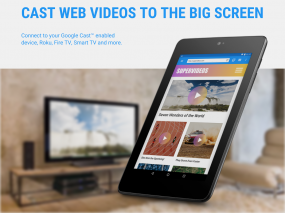 Web Video Cast | Browser to TV Screenshot