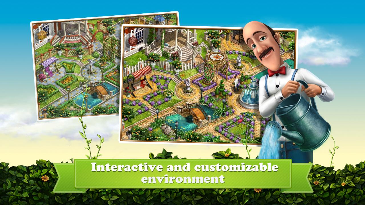 ... Gardenscapes Screenshot 4 ...