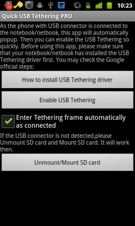 usb tethering apk for android