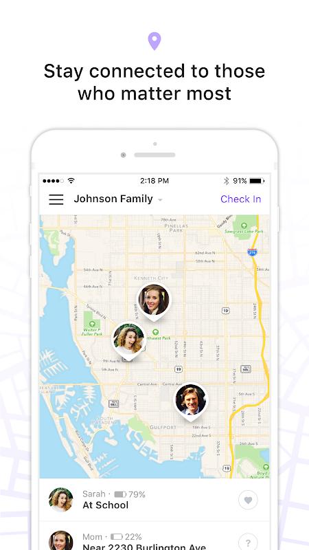 Life360 Family Locator screenshot 1