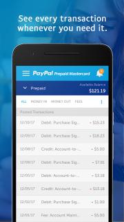 PayPal Prepaid screenshot 1