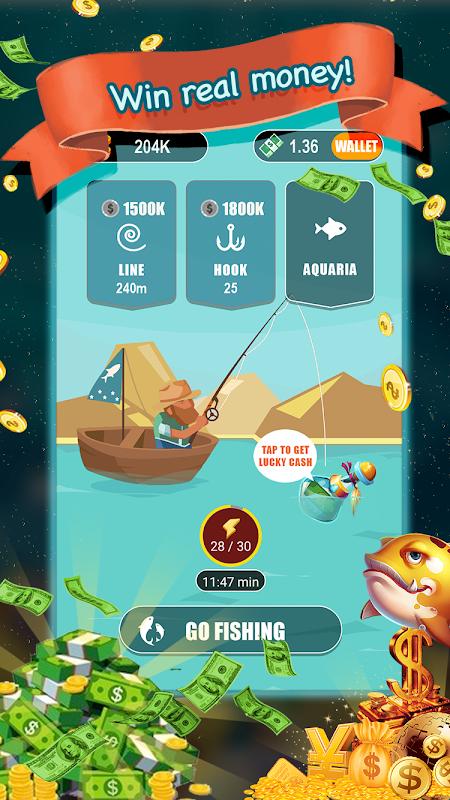 Go fishing! - Win Real Money! screenshot 2